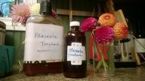Placenta bottles